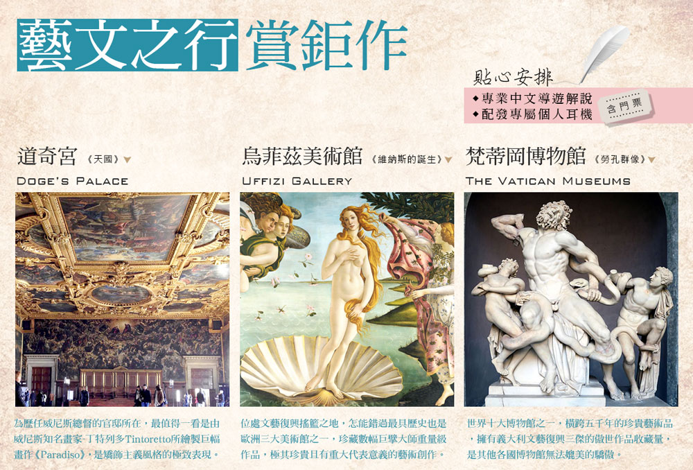 參觀博物館並有中文導遊導覽